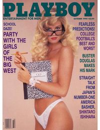 Playboy USA - October 1990
