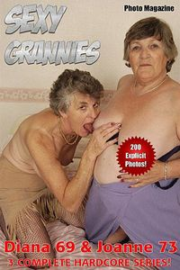 Sexy Grannies Adult Photo Magazine - February 2017