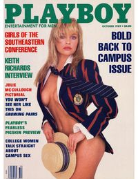 Playboy USA - October 1989