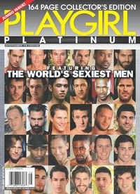 Playgirl Magazine - October 2015