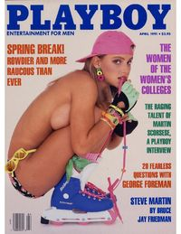 Playboy USA - April 1991