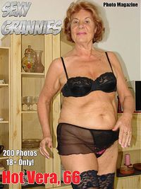 Sexy Grannies Adult Photo Magazine - October 2017