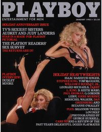 Playboy USA - January 1983